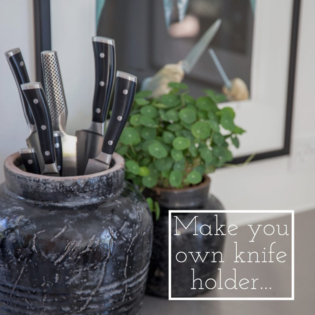 DIY Knife holder Design Nest CPH, product photographer, Styling, Visual communication, Copenhagen
