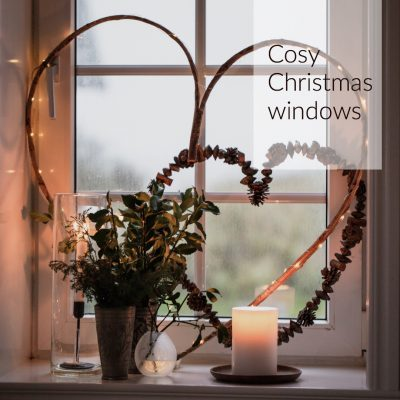 Cosy Christmas windows
