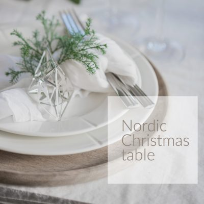 Nordic Christmas table